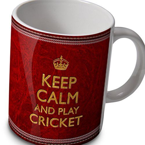 Cricket Mug - Keep Calm And Play Cricket