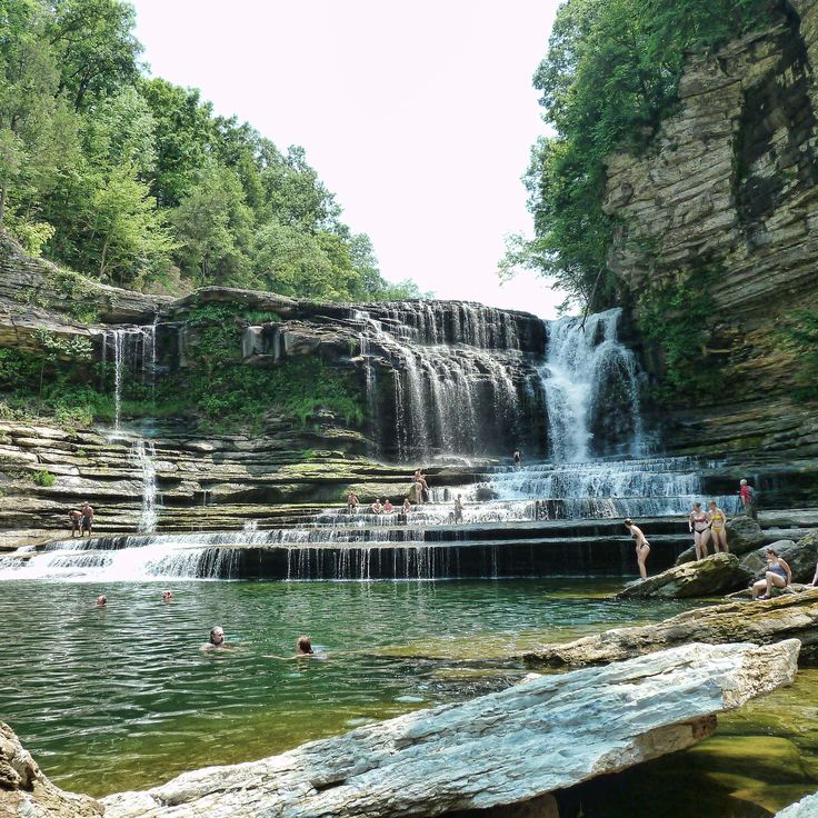Fact: nothing says summer more than a chill-ass swimming hole.
