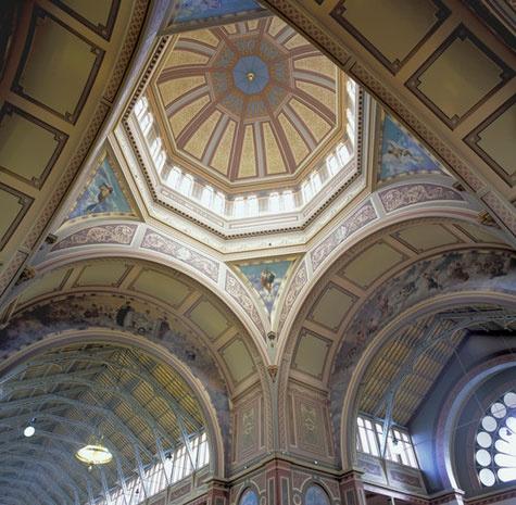 Interior, Royal Exhibition Building, Melbourne Victoria Australia