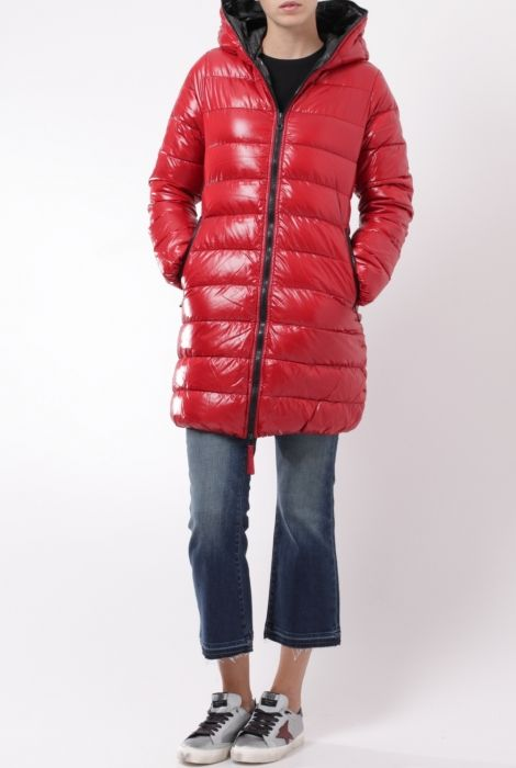 duvetica ace down coat red fall winter 2016 shop online