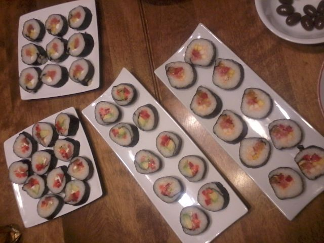 SUSHIS!! :D