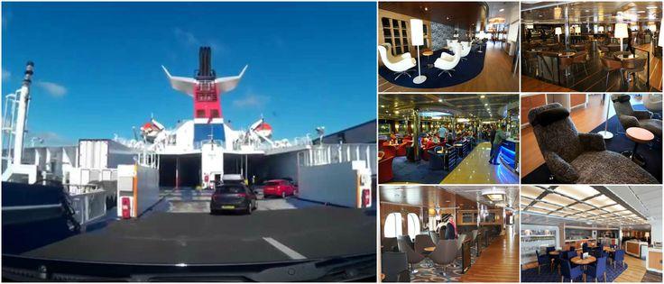 Stena Line Ferry, Cairnryan to Belfast, day 5