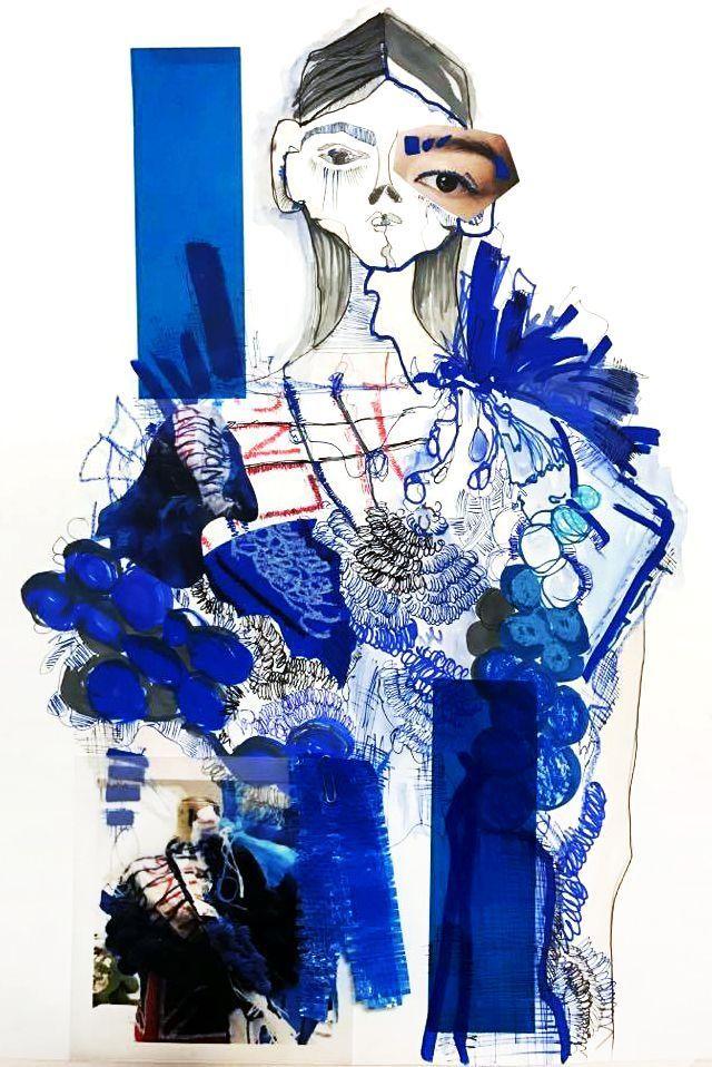 Illustration by Urmila Raini, Fashion FAD student at Kensington & Chelsea College