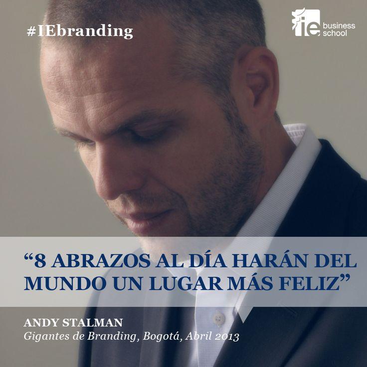 #Cita #AndyStalman #IEbranding