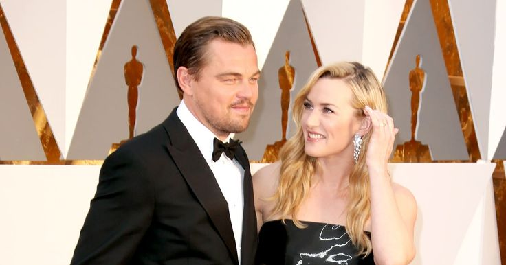 Leonardo DiCaprio arrived to the Oscars 2016 on Sunday, Feb. 28, red carpet and was greeted by his 'Titanic' costar, Kate Winslet — read more