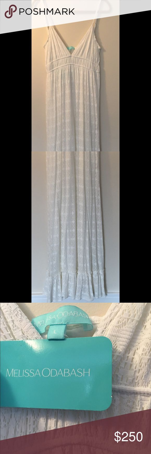 Melissa Odabash Maxi Dress Size:L Absolutely stunning Melissa Odabash size large maxi dress. This new with tags lace dress is so beautiful long and flowy. Melissa Odabash Dresses Maxi