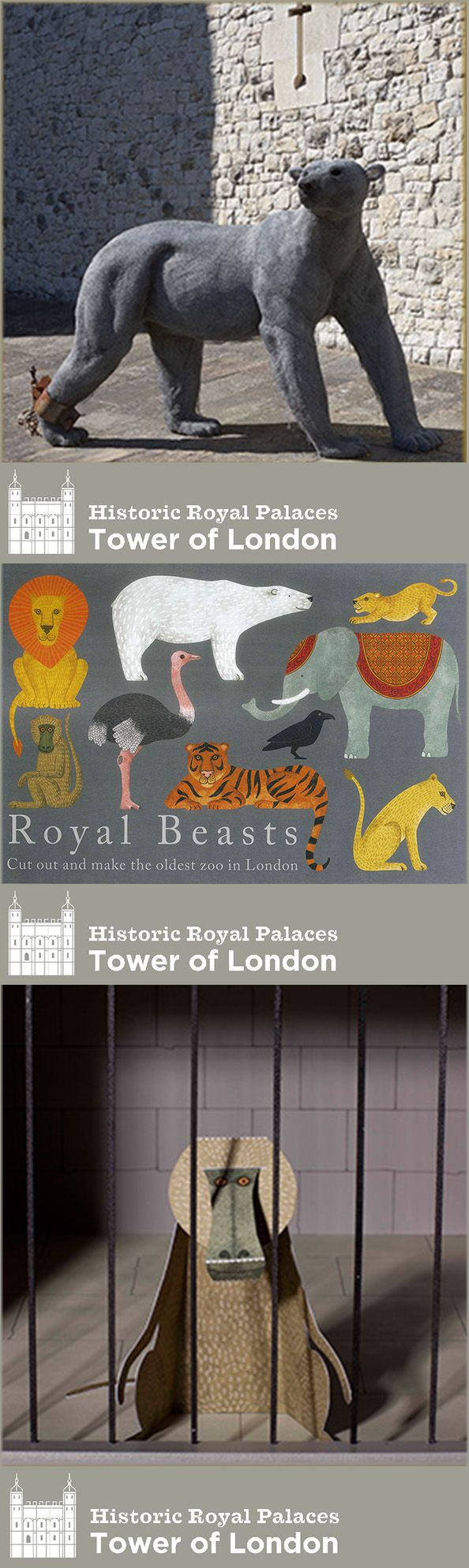 Since the reign of King John animals were kept at the Tower of London for the entertainment and curiosity of the court. Everything from elephants to tigers, kangaroos and ostriches lived in what was known as the Royal Menagerie.