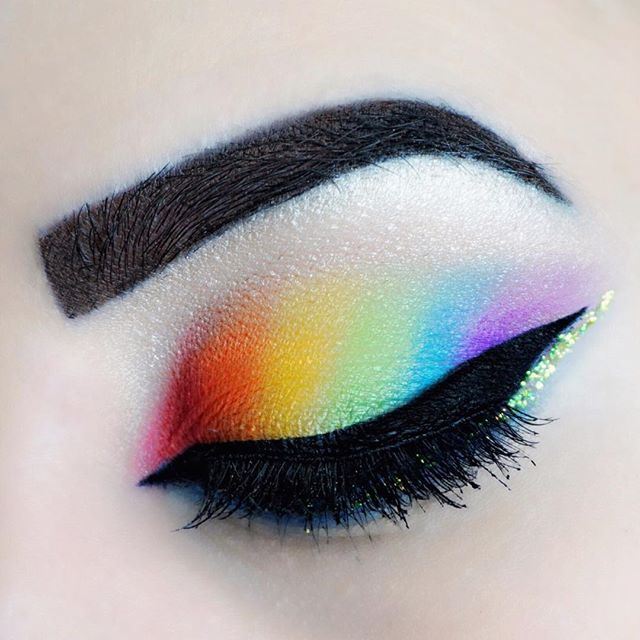 Pin for Later: Rainbow-Lovers Can Rejoice at This Inventive Way to Wear All Their Favourite Colours