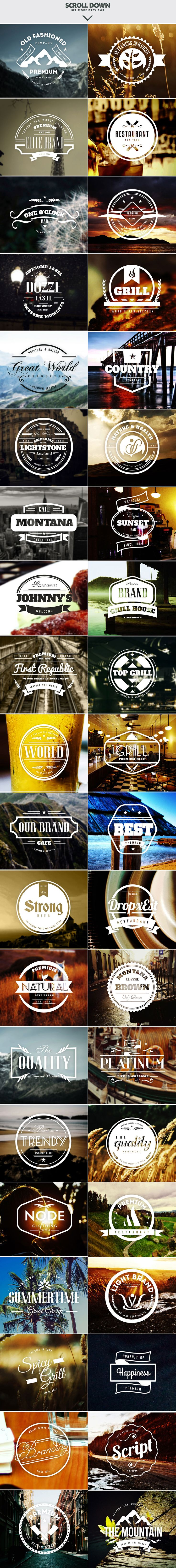 $20 for 650 logo and badge templates? Now THAT's a steal!