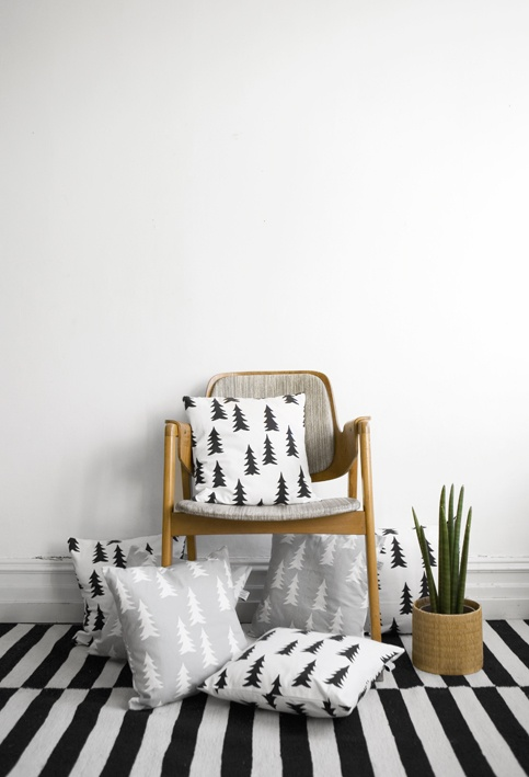Scandinavian Christmas Pillow : Christmas pillows I d use all year. Home Pinterest Scandinavian christmas, White pillows ...
