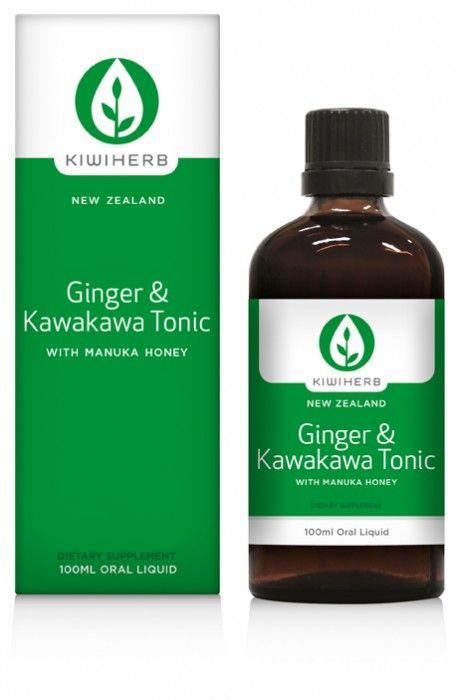 Kiwiherb :: Ginger & Kawakawa Tonic