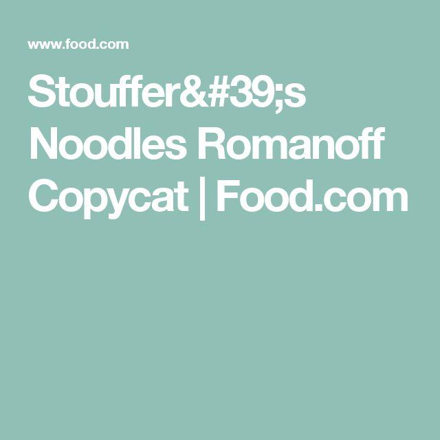 Stouffer's Noodles Romanoff Copycat   Food.com
