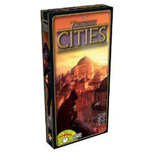 Asmodee TASM-08 7 Wonders Cities Expansion Pack