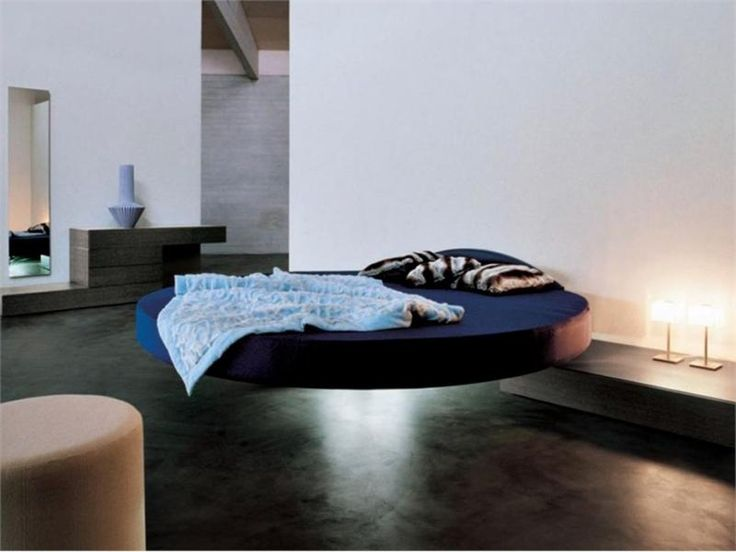 Round Floating Bed