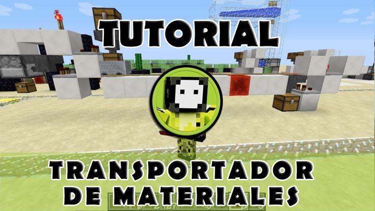 Tutorial Minecraft | Sistema de carga/descarga de materiales