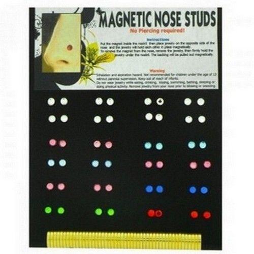 Magnetic Nose Stud Set