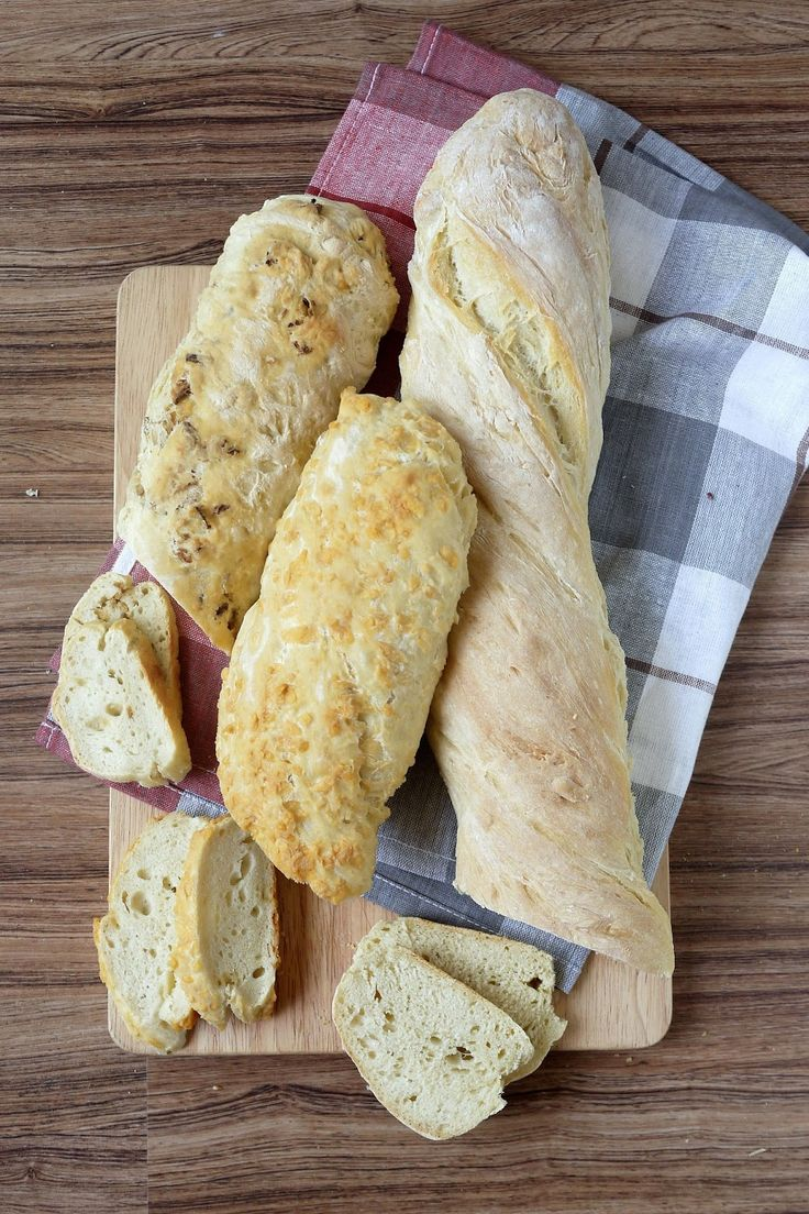 Brot, Bread, Backen, Bread Baking (Fri)day, Baguette, Grillen, Grillbeilage, Beilage