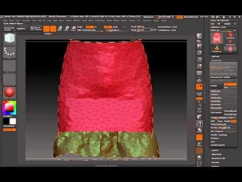 ▶ Tris To Quads: Marvelous Designer - ZBrush - Blender (Part 2) - YouTube