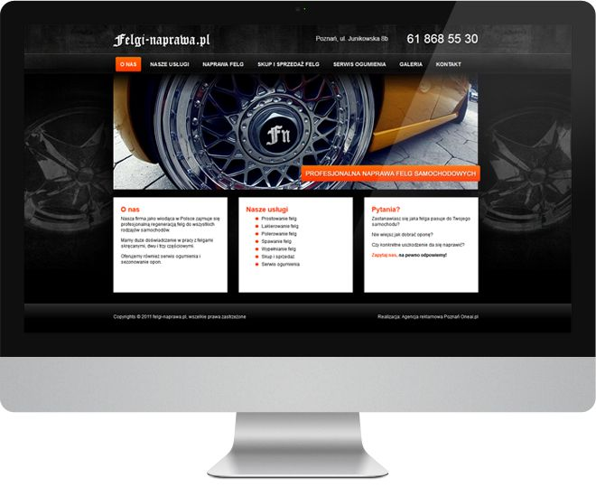 Zajęliśmy się kompletnym przeprojektowaniem strony internetowej i logo firmy z branży motoryzacyjnej. Dzięki dobrej współpracy z klientem udało nam się stworzyć niepowtarzalny styl graficzny serwisu. Materiały z sesji fotograficznej wspaniale uzupełniają layout.  #media #stronainternetowa