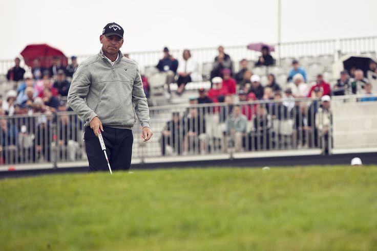 Thomas Bjorn at the Irish Open