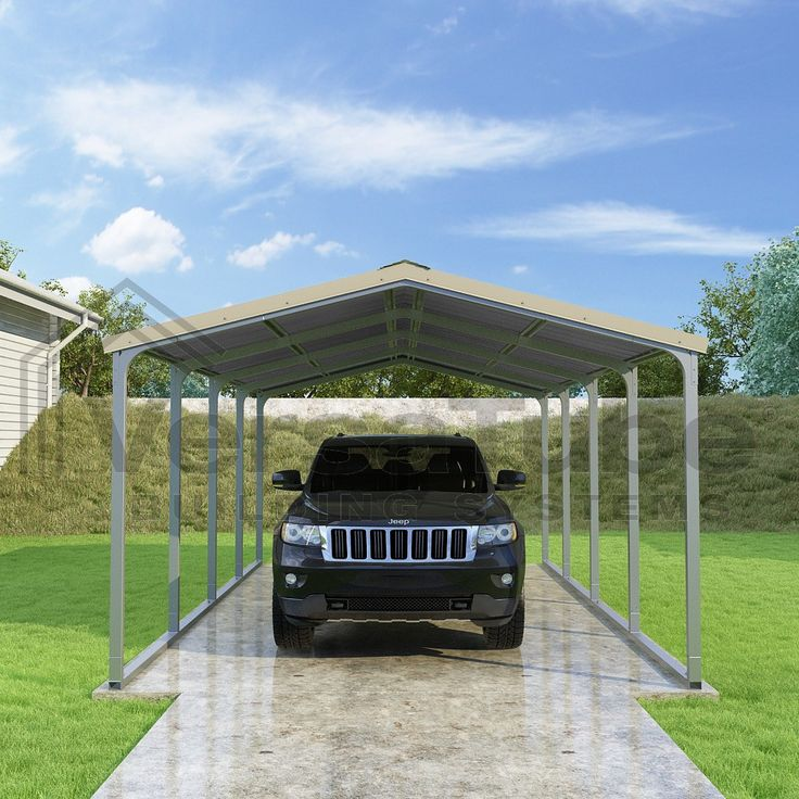 Grand Carport Roof Only 12 x 20 x 7 Carport or