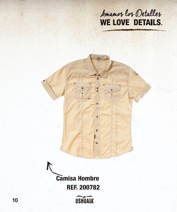 Camisa Hombre Ref: 200782 Talla: S-M-L-XL