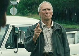 Gran Torino, another great role for Clint.