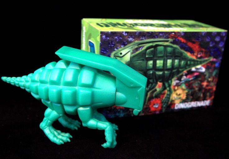 """Dino Grenade"" by Ron English"