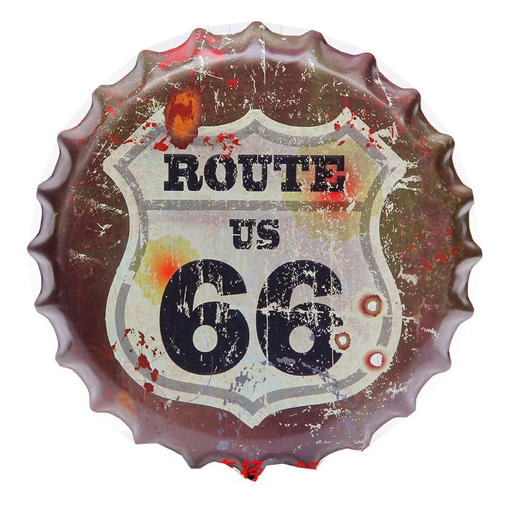 ==> [Free Shipping] Buy Best placas decorativas metal vintage beer gap decoration maison route 66 moto falg cheer sex gril Home Decoration bar Picture frame Online with LOWEST Price | 32735423271