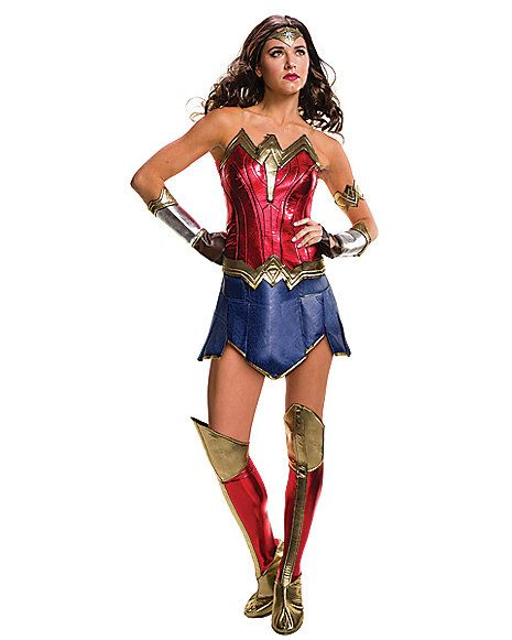 adult wonder woman costume batman v superman dawn of justice spirithalloween - Spirit Halloween Store 2016