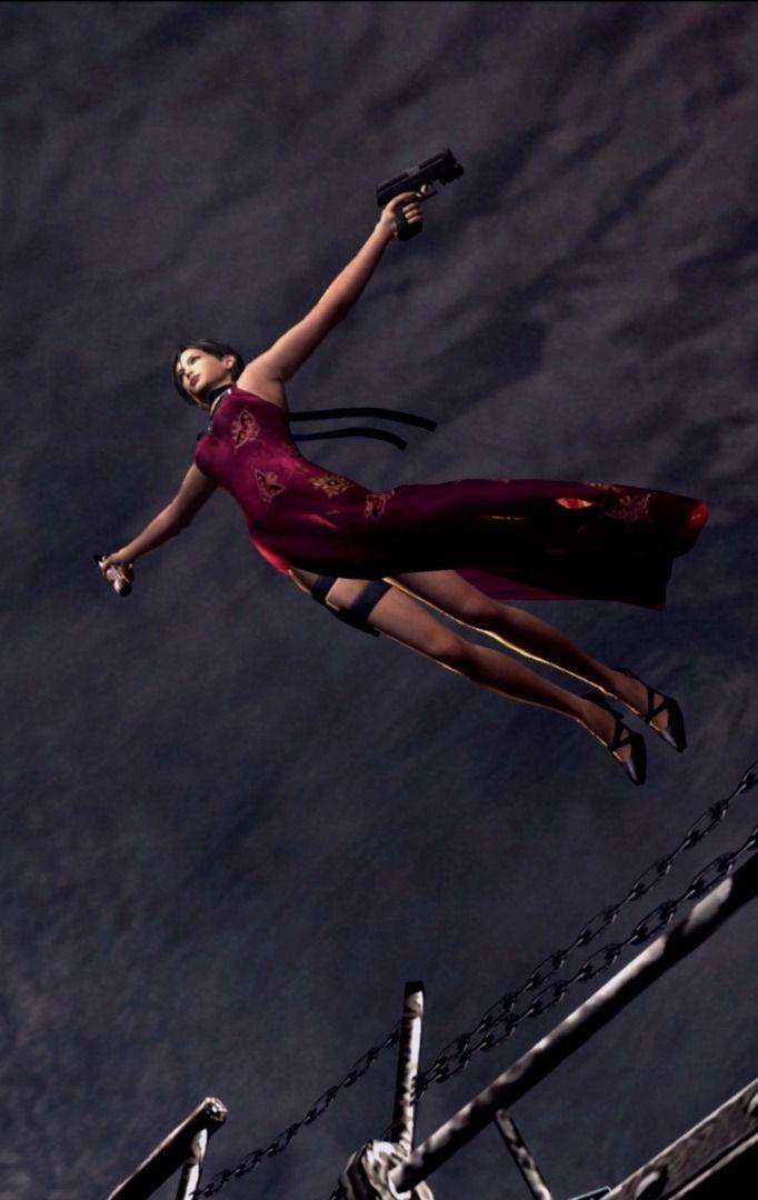 Ada Wong | Resident Evil 4 | just like leap of faith XD