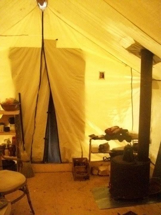 Astridu0027s home is a wall tent. She heats her home and does her cooking with & 55 best Walled Tents u0026 Supplies images on Pinterest | Tents ...