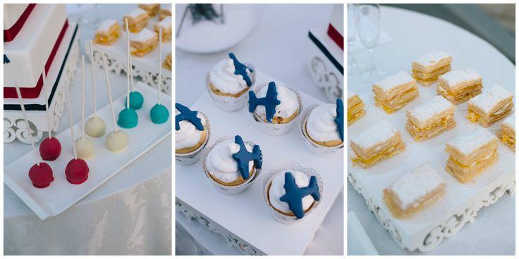 Air Mail Wedding Sweet Buffet