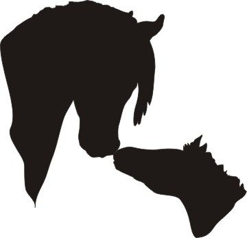 Image result for horse head silhouette kat 39 s crafts