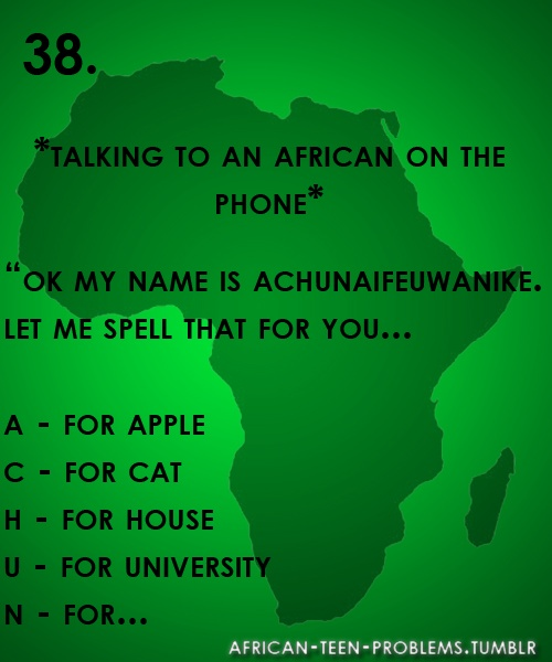 It's more like talking to a Nigerian on the phone but oh well... ★★★★★