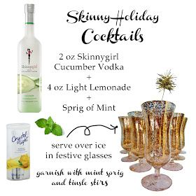 Skinny holiday cocktails i m thirsty pinterest holiday cocktails