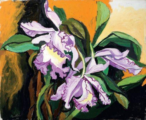 Renato Guttuso (Italian, 1911-1987), Orchidee,...