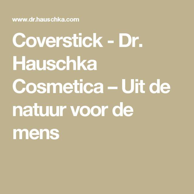 Coverstick - Dr. Hauschka Cosmetica – Uit de natuur voor de mens