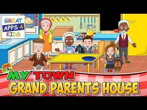 My Town: Grandparents | HD Gameplay - New Best Apps for Kids