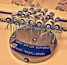 Masallah-butik pasta-nazar boncugu- dogum gunu partisi- 41 kere masallah -birthday cake-party- cake -customized