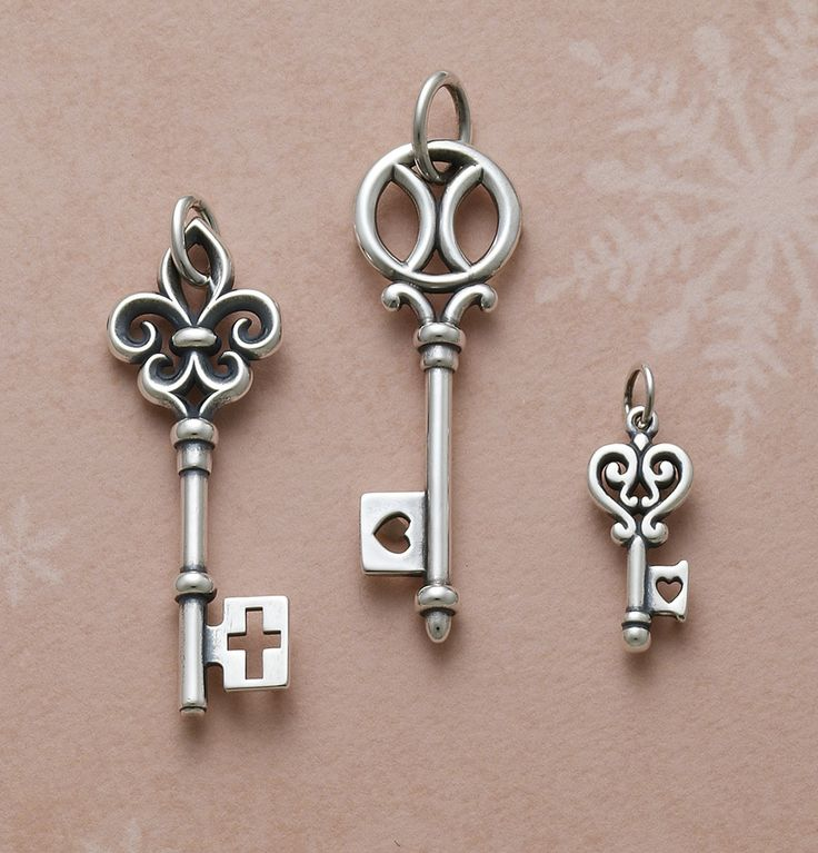Key Collection from James Avery Jewelry #jamesavery
