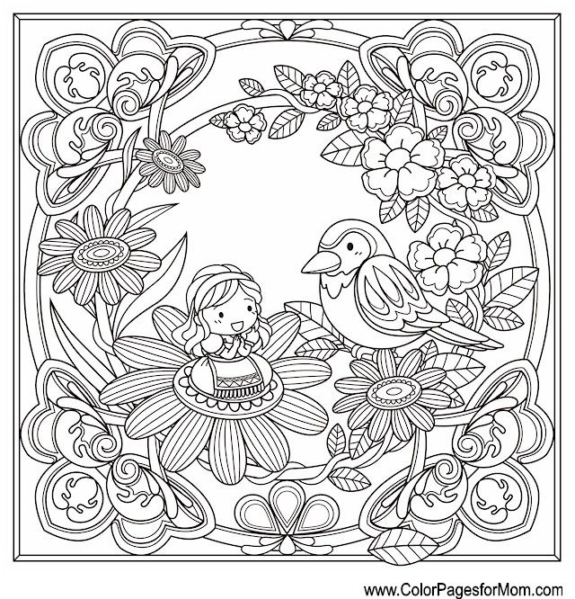 1776 Best Coloring Pages For Adults 2 Images On Pinterest
