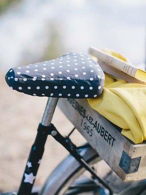 Fahrradsattelschutz Schnittmuster kostenlos