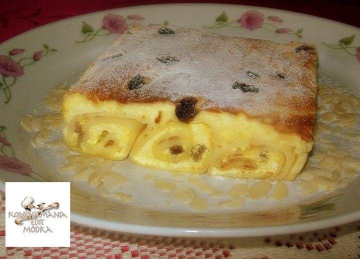 Hozzávalók a palacsinta tésztához: 20 dkg finomliszt 2 db tojás 3 dl tej 1,5 dl szódavíz 3 ek. étolaj Pici só A töltelékhez: 40 dkg tehéntúró 2 ek....