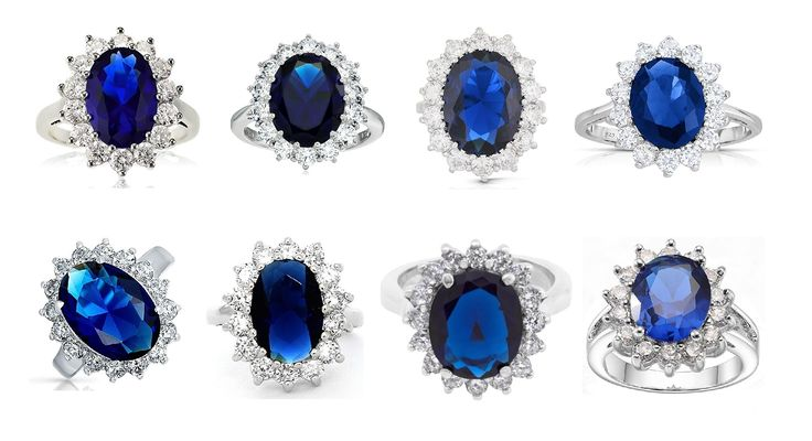 A Stunning Selection of Princess Diana/Kate Middleton Rings