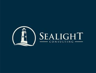 Logo with a lighthouse - Corporate / Consulting logo design - 48HoursLogo.com