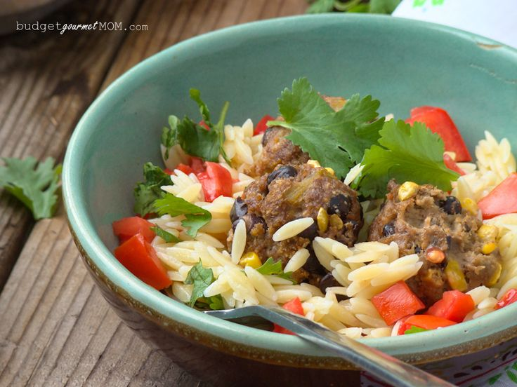 Tex Mex Meatballs - from Budget Gourmet Mom
