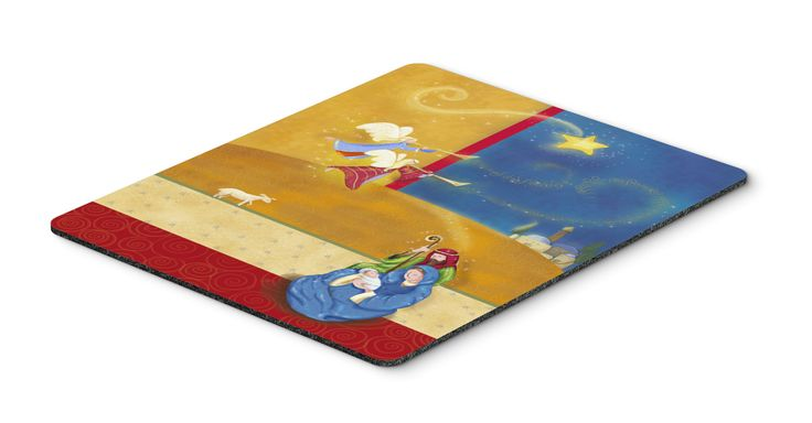 Contemporary Nativity Christmas Mouse Pad, Hot Pad or Trivet APH5626MP