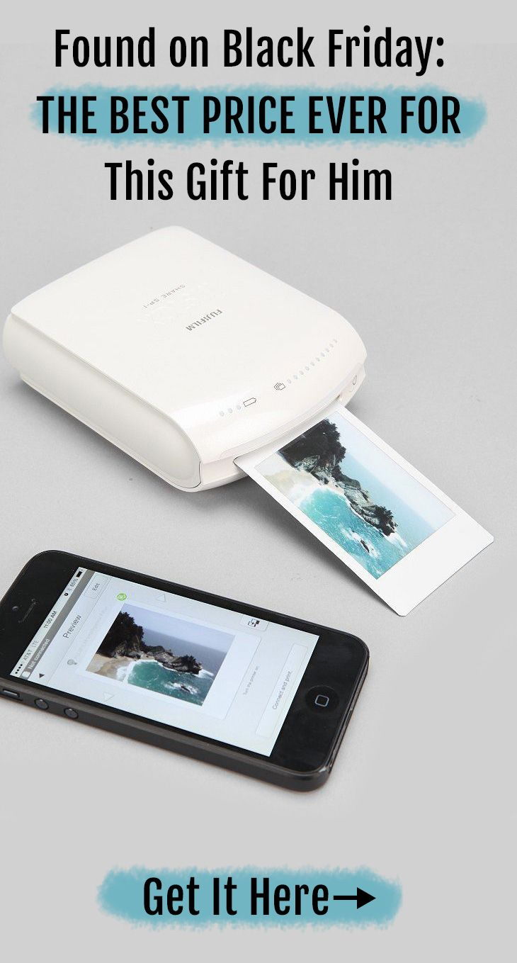 Black Friday Sales - Found This Smartphone Printer. Makes a great gift for him or gift for techies