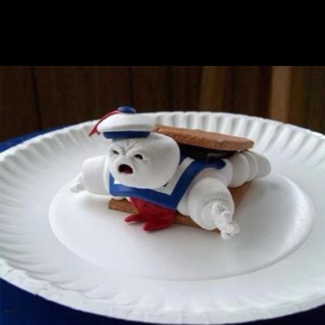 Ghostbusters Stay Puff Man, lol